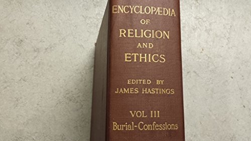 9780567094896: The Encyclopaedia of Religion and Ethics: Complete set of 13 volumes