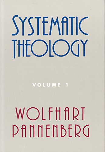 9780567095978: Systematic Theology: v. 1