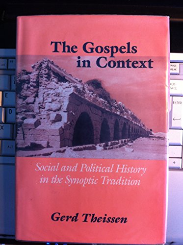 9780567096029: THE GOSPELS IN CONTEXT social and political history in the Synoptic tradition