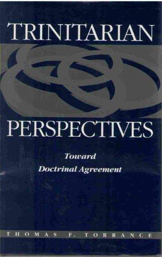 9780567096999: Trinitarian Perspectives: Toward Doctrinal Agreement