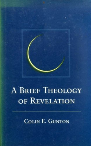 9780567097262: Brief Theology of Revelation: The 1993 Warfield Lectures