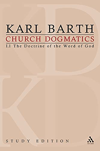 9780567202901: Church Dogmatics, Vol 1.1, Sections 1-7: The Doctrine of the Word of God, Study Edition 1