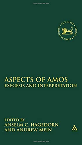 9780567245373: Aspects of Amos: Exegesis and Interpretation