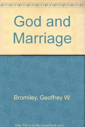 9780567291042: God and Marriage