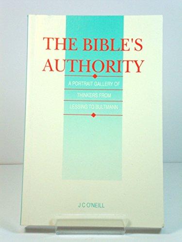 9780567291899: Bible's Authority