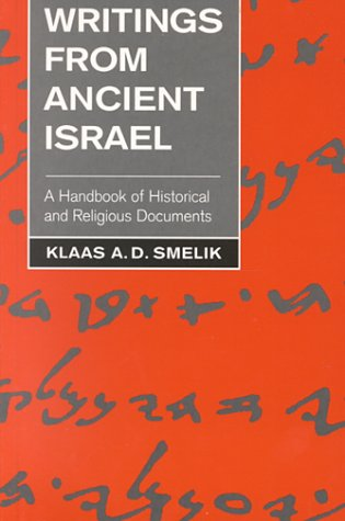 9780567292025: Writings from Ancient Israel: A Handbook of Historical and Religious Documents