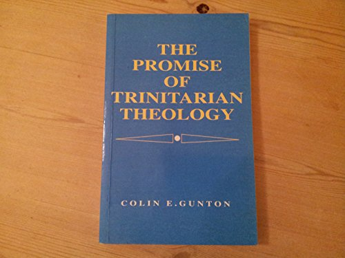9780567292247: Promise of Trinitarian Theology