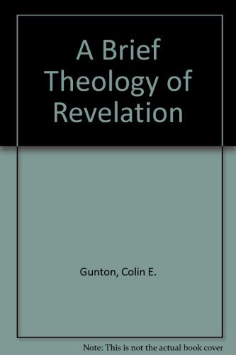 9780567292933: A Brief Theology of Revelation