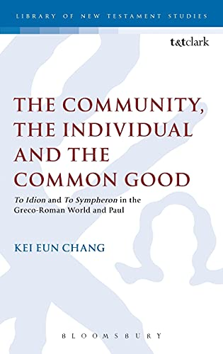 The Community, The Individual and the Common Good: Chang, Kei Eun