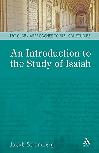 Introduction to the Study of Isaiah (Paperback)