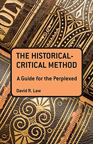 9780567400123: Historical Critical Method: A Guide for the Perplexed (Guides for the Perplexed)