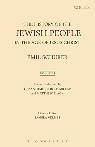 9780567501615: The History of the Jewish People in the Age of Jesus Christ: Volume 1