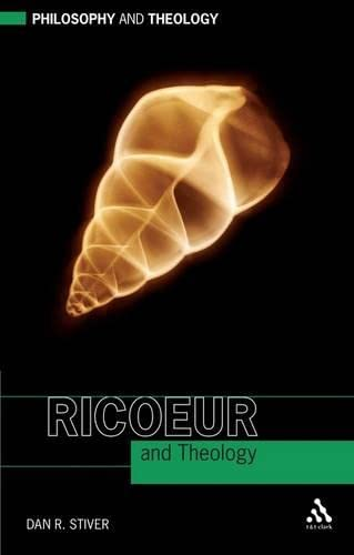 9780567537867: Ricoeur and Theology (Philosophy and Theology)