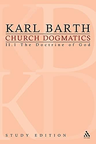 9780567558947: Church Dogmatics, Vol. 2.1, Section 25-27: The Doctrine of God, Study Edition 7