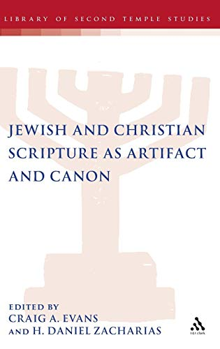 Jewish and Christian Scripture as Artifa