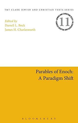 9780567624062: Parables of Enoch: A Paradigm Shift (Jewish and Christian Texts)