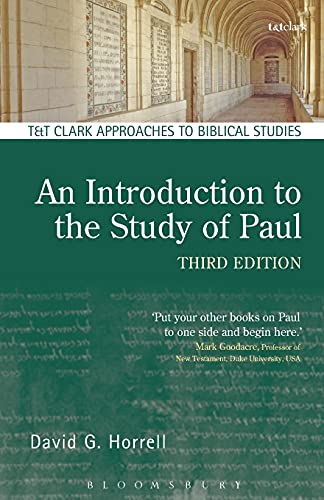 9780567656254: An Introduction to the Study of Paul (T&T Clark Approaches to Biblical Studies)