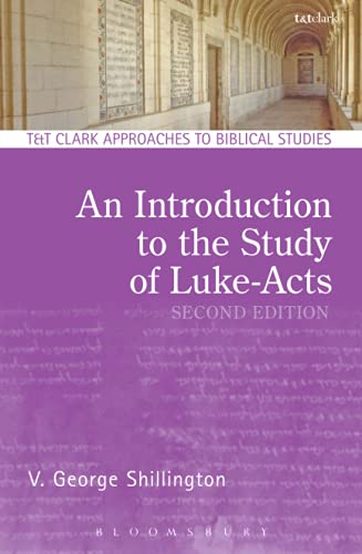 9780567656414: An Introduction to the Study of Luke-Acts (T&T Clark Approaches to Biblical Studies)