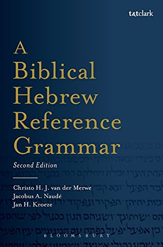 9780567663320: A Biblical Hebrew Reference Grammar: Second Edition (Biblical Languages: Hebrew)