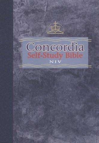 9780570005056: Concordia Self-Study Bible, New International Version