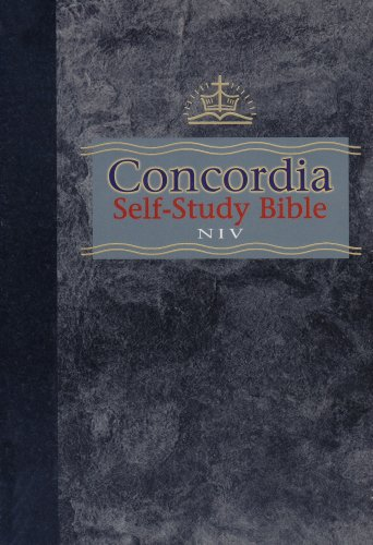 9780570005292: Concordia Self-Study Bible (with thumb index)