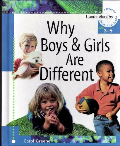 9780570035527: Why Boys and Girls Are Different: 001 (Learning About Sex)