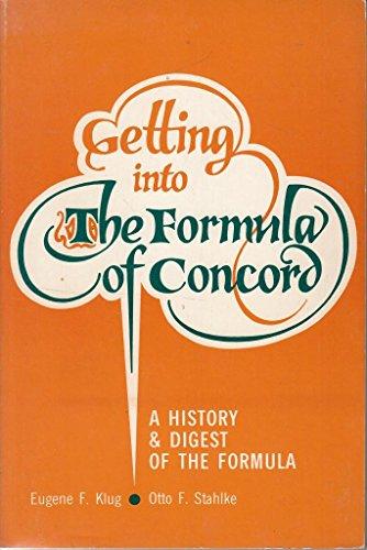 9780570037422: Penetración la Fórmula de la Concordia: Historia y recopilación de la Fórmula : notas históricas y preguntas para discutir (Spanish Edition)