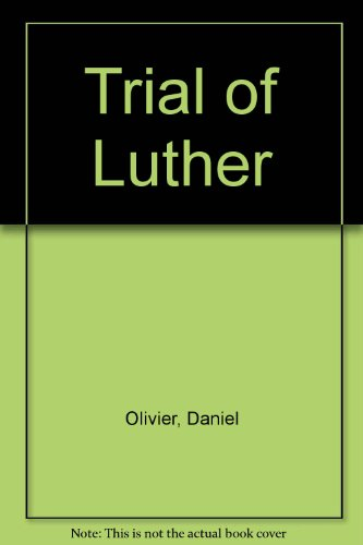 9780570037859: Trial of Luther