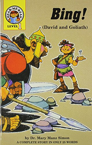 9780570041870: Bing!: 1 Samuel 17:1-52 (David and Goliath) (Hear Me Read Level 1 Series)