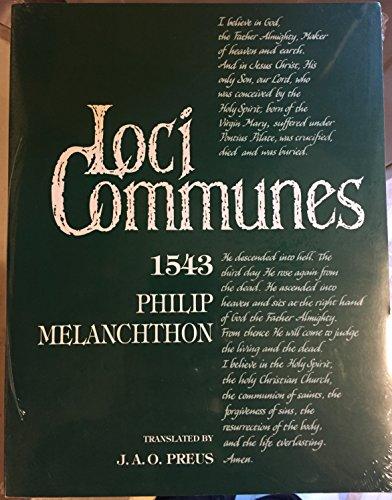 9780570042501: Loci Communes 1543