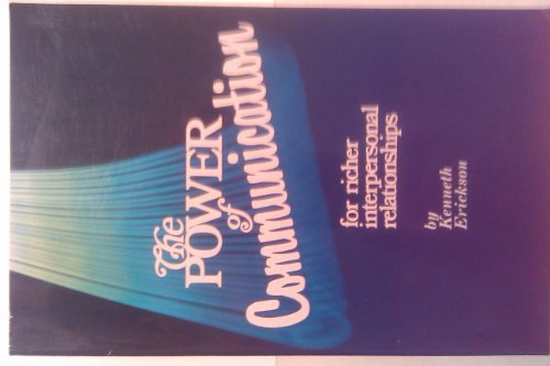 9780570044352: The Power of Communication: For Richer Interpersonal Relationships