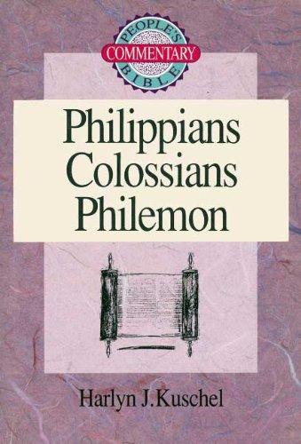 9780570045885: Philippians/Colossians/Philemon (People's Bible Commentary)