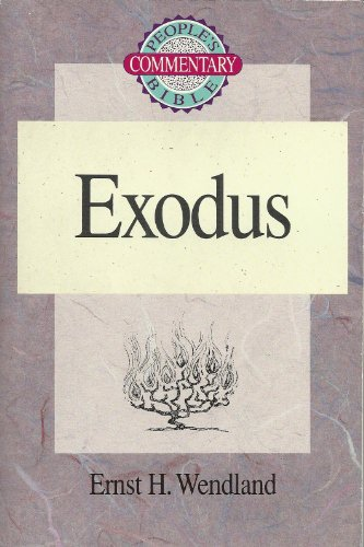 9780570045892: Exodus - People's Bible Commentary (People's Bible Commentary Series)