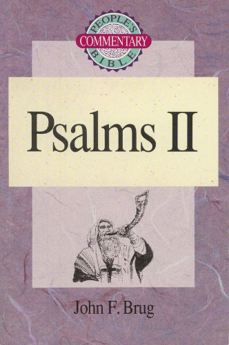 9780570045908: Psalms II (People's Bible Commentary Series)