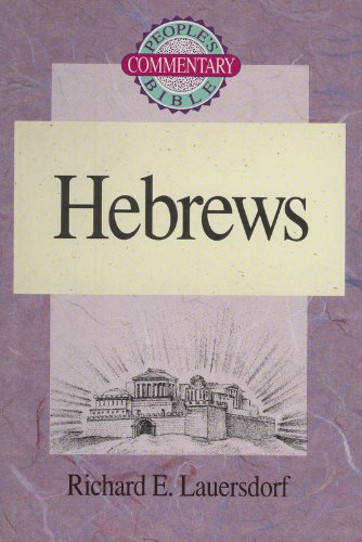9780570045953: Hebrews (People's Bible Commentary)
