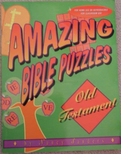 9780570047483: Amazing Bible Puzzles Old Testament