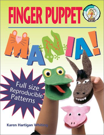 9780570053736: Finger Puppet Mania: 64 Pages Includes Patterns to Create 19 Unique Finger Puppets