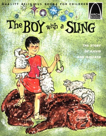 9780570060123: The Boy With a Sling: The Story of David and Goliath (Arch Book)