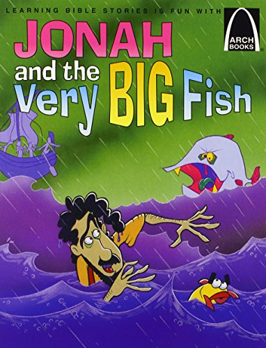 9780570075417: Jonah and the Very Big Fish - Arch Books