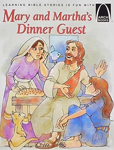 Mary and Martha's Dinner Guest - Arch: Concordia Publishing House