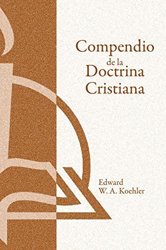9780570099352: Compendio de La Doctrina Cristiana: Una Presentacion Popular de Las Ensenanzas de La Biblia, 2nd (Hear Me Read (Concordia))
