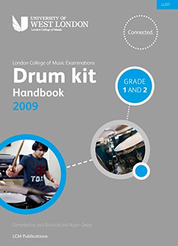 9780570120803: Drum Kit Handbook 2009: Grades 1 & 2 (BOOK + CD) (London College of Music Examinations) (LCM)
