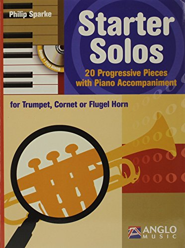 9780570291534: Starter Solos: Trumpet Cornet Or Flugel Horn TC- Piano Book-CD Easy [Paperbac...