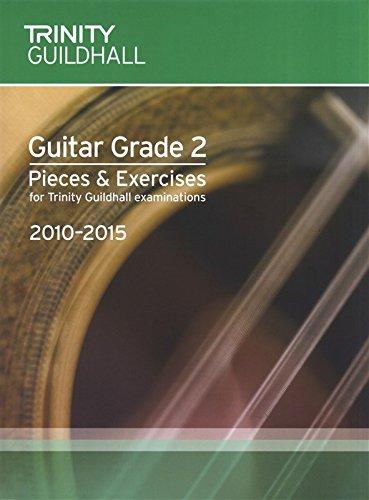 9780570380344: Trinity Guildhall: Guitar Grade 2 Pieces And Exercises - 2010 To 2015. Partituras para Guitarra