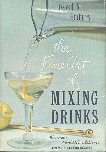 9780571033850: The Fine Art of Mixing Drinks