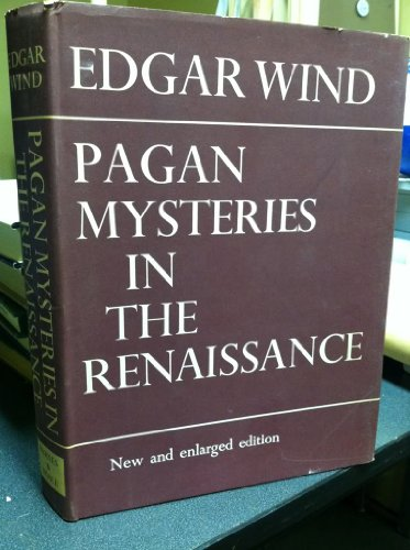9780571046348: Pagan Mysteries in the Renaissance
