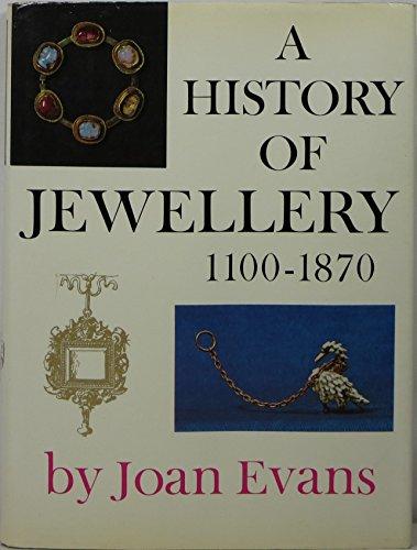 9780571046935: History of Jewellery, 1100-1870