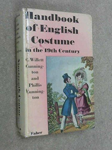 9780571047031: Handbook of English Costume in the Nineteenth Century