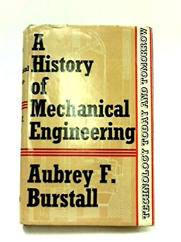 9780571047062: History of Mechanical Engineering (Technological Today & Tomorrow)