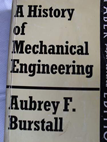 9780571047079: A History of Mechanical Engineering (Technology Today and Tomorrow Series)
